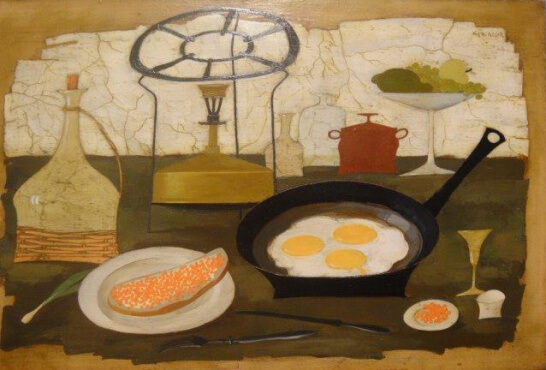 Scrambled Eggs (40х60 oil on canvas)