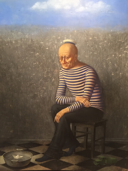 Sailor (146х116 oil on canvas)