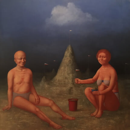 Couple (145х145 oil on canvas)