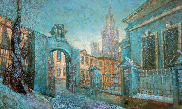 Moscow. Kotelniki  (70x100  oil on canvas)