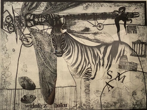 """Transformation game""    etching"