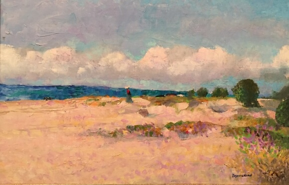 Sandy Beach (40x60 oil on canvas)