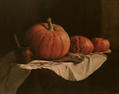 Still Life with Pumpkin (80х100 oil on canvas)