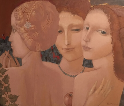 Three Graces (60x70 oil on canvas)